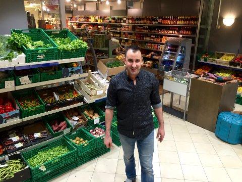Ali El Malmi foran sine nye lokaler i Veitasenteret.