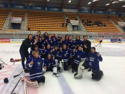 U16-laget til Tromsø Hockey gikk til topps i en nasjonal turnering på Lillehammer.