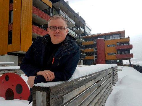 TRENGER FLERE BOLIGER: - Vi kan stå overfor en mangel på opptil 5.000 boliger i løpet av den kommende tiårsperioden, sier Nils Kristian Sørheim Nilsen.