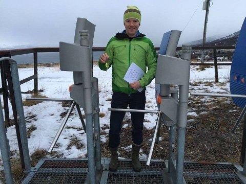 Rune Kufaas i Tromsø alpinpark har lagt bak seg en ny sesong med millionoverskudd. Foto: Guro Lysnes Kristoffersen