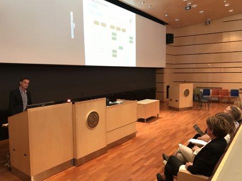 FORSLAG: Universitetsdirektør Jørgen Fossland foreslår at det nye UiT organiseres som fem fakultet.