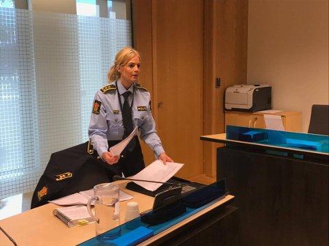 I VARETEKT: Politiadvokat Gøril Lund har begjært mistenkte vartektsfengslet. Fengslingsmøtet startet klokka 10.30.