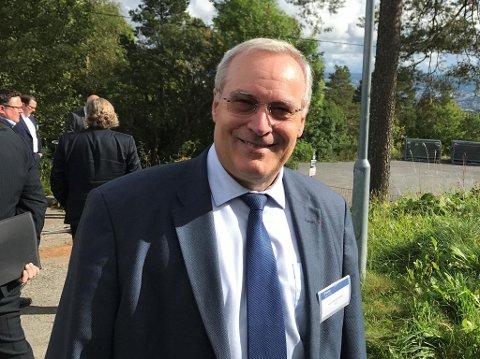 OPTIMIST: CGG-topp Jean-Georges Melcor tror på en ny oljetopptur. Foto: Halvor Ripegutu