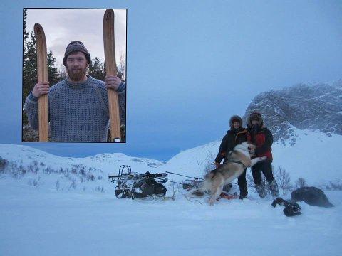OVERLEVDE EKSREMT DØGN: Etter et døgn nedgravd i snøen ble Kjell-Harald Myrseth (22) funnet i god behold. Forholdene på fjellet der balsfjordværingen ble funnet beskrive som ekstreme. Foto er tatt før Myrseth la ut på turen.