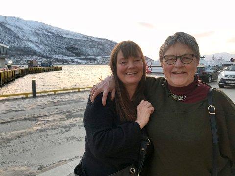 PREMIEREKLAR: Regissør Ellen-Astri Lundby og tidsvitne Grete Haagenrud, som var seks år da hun ble sendt med «Carl Arp» fra Kirkenes. Haagenrud medvirker i Lundbys film «Brennende minner» som har premiere på TIFF torsdag.