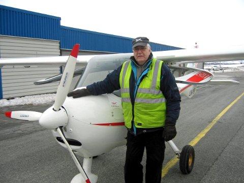 OMKOM: Leif Jarle Stamnes (79) fra Tromsø.
