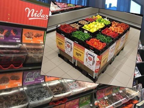 SMÅ-GRØNT: Etter priskrigen på smågodt i fjor høst begynte Coop Extra i Kroken å selge frukt og grønt i løsvekt. Nå har konseptet spredt seg til nesten 400 andre Extra-butikker. Arkivfoto.