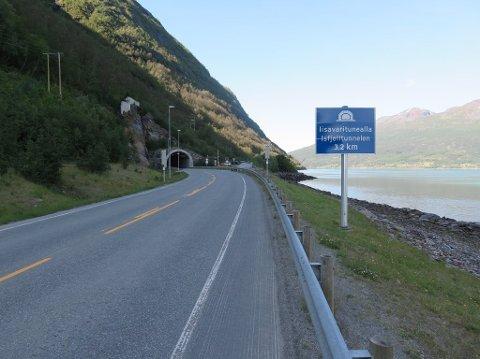 E6 Isfjelltunnelen i Nord-Troms skal oppgraderes. Foto: Vegvesen.no