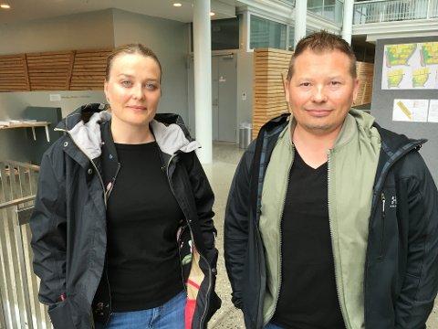 - KATASTROFE: Nestleder Katrine Aursand og leder Rune Bakkejord i Utdanningsforbundet i Tromsø mener det vil være en katastrofe om ikke lærere har mulighet til å delta i et offentlig ordskifte om kritiske forhold i skolen.