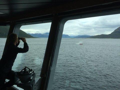 SØK: Helikopter, båter og dykkere ble satt inn i søket etter at sjarken «Kristine» forliste i Reisafjorden natt til 18. juni 2016. Det skulle imidlertid ta nærmere to år før båten ble hevet søndag.