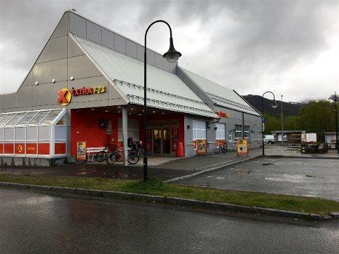 FIKK KJØPE DRIKKEVARER: Denne Coop Extra-butikken på Storslett var blant butikkene hvor de mindreårige kontrollørene fikk kjøpe alkoholholdige drikkevarer.