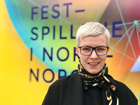 festspilldirektør Maria Utsi er strålende fornøyd med årets festspill.