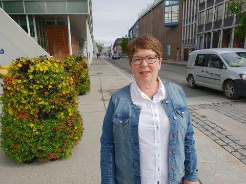KRITISK: Hanne Marit Bergland er leder i Norsk sykepleierforbund Troms.