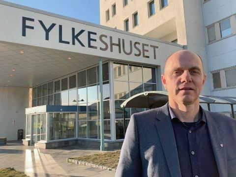 NY VEISJEF: 1. januar blir Bjørn Kavli divisjonsdirektør for samferdsel i det mye storfylket. Store deler av høsten vil gå med for å få den nye organisasjonen på plass.