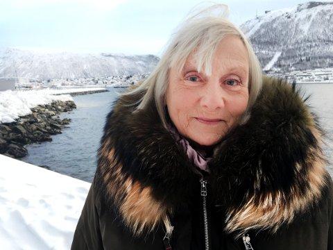PÅ PLASS: Fredag ble Helle Ottesen forespurt om å ersatte Kirsti Sparbo i rollen som Agnes Mack; allerede dagen etterpå var hun på plasss i Tromsø.