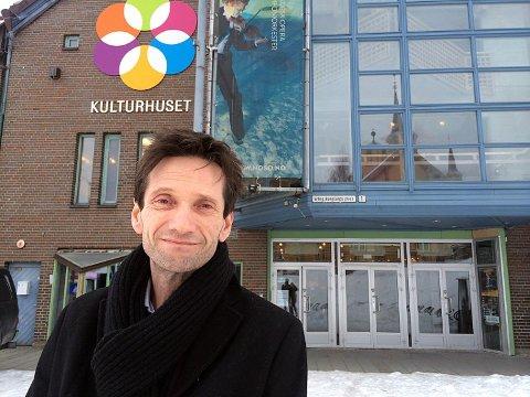 MODERNISERINGSPLANER: Kulturhussjef Erik Smith-Meyer ønsker å bygge om deler av Kulturhuset. Arkivfoto.