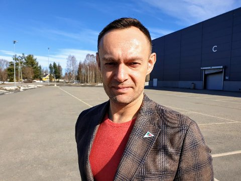NY ROLLE: Lørdag kan Torgeir Knag Fylkesnes bli ny nestleder i Sosialistisk Venstreparti. Foto: Øystein Barth Heyerdal