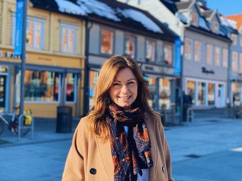 SPEIDER: Maria Willumsen (43) er tromsøværing, og nå ønsker hun å etablere Starbucks i sin egen hjemby.