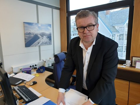 I LEDELSEN: Lyngen-ordfører Dan Håvard Johnsen har gode sjanser til å fortsette i jobben, men jakter fortsatt samarbeidspartnere.