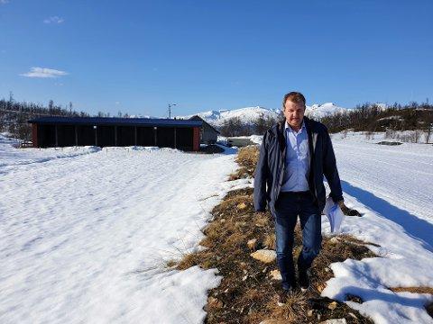JEGER: Tidligere byrådsleder Øyvind Hilmarsen er nyvalgt leder i Tromsø jeger- og fiskerforening. Han håper på en utbygging av skytebanen her i Kjoselvdalen.
