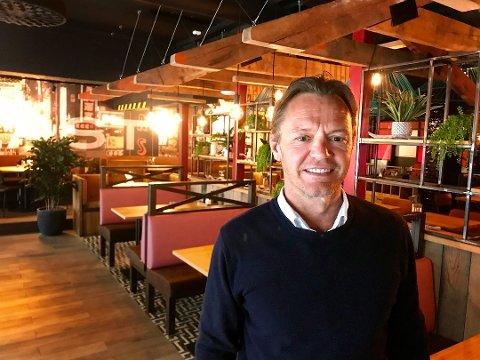 Morten Lønstad sier seg fornøyd med åpningeukene til East, og merker spesielt godt besøk i lunsjen.