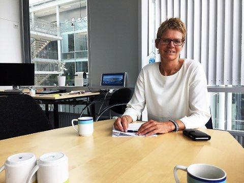 FORSINKET: Administrasjonssjef Britt Elin Steinveg venter fortsatt på å få de foreløpige funnene.
