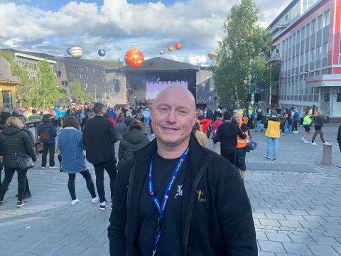NYTER SOLA: Styreleder i Polaria Music Fest AS, Karl-Henning Svendsen.