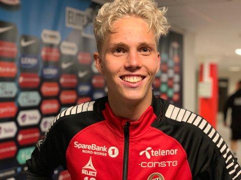 HØYAKTUELL FOR SALG: Både norske og utenlandske klubber har meldt sin interesse for Onni Valakari. Nordlys er kjent med at et bud fra eliteserieklubben Aalesund skal være avslått.
