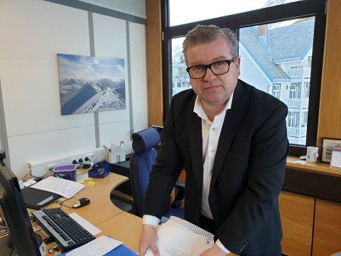 FORTSETTER: Sittende ordfører i Lyngen, Dan-Håvard Johnsen, ser ut til å ha støtte nok til å fortsette i jobben.