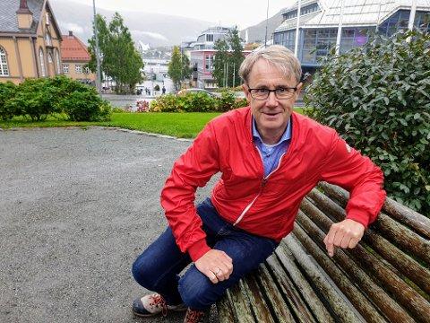 DEKNINGSDIREKTØR: Bjørn Amundsen er dekningsdirektør i Telenor