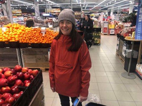 GEVINST: Heidi Skjellnes synes det er positivt at kundene får en del av overskuddet til Coop Nord.