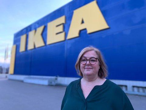 SJEF: Ikea Norge-sjef Clare Rodgers gir nå en kjempebonus til sine ansatte.  Foto: Halvor Ripegutu (Mediehuset Nettavisen)