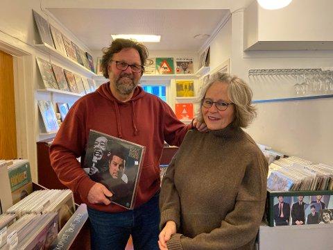 BACKBEAT: Hermann Greuel og Martha Otte er takknemlige for gaven de fikk.