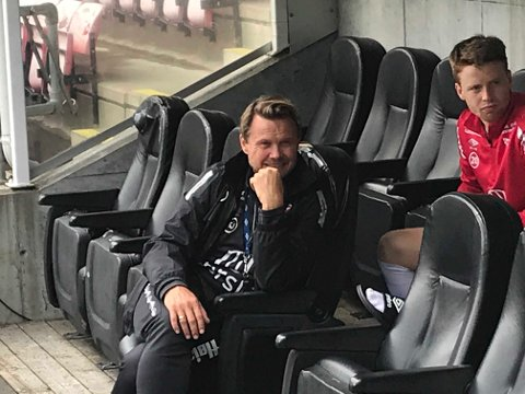 FEIRER OPPRYKK: Fredrikstad og Bjørn Johansen rykket søndag opp til 1. divisjon.