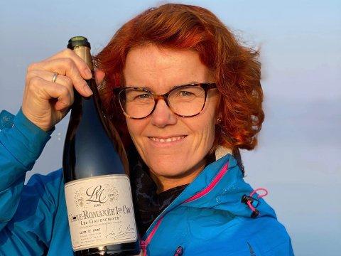 VIN: Nå skal Toril Fagerheim drive med vin på heltid.