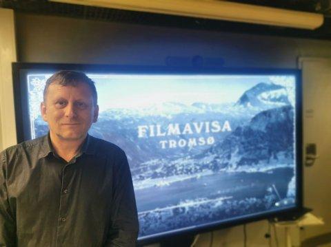 LANSERING: Torsdag la John Arvid Berger og teamet hans frem Filmavisa Tromsø.