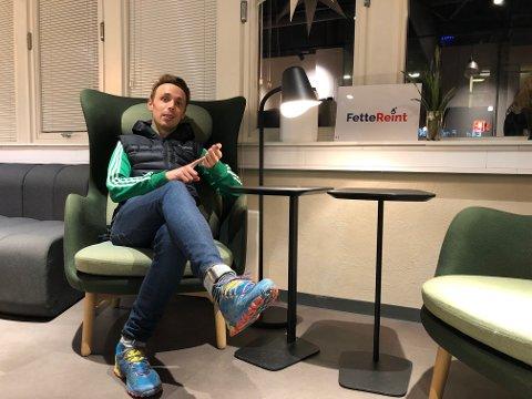 GIR SEG IKKE: Günder Andreas Eriksen gir seg ikke, og kommer til å profilere firmaet som Fette Reint.