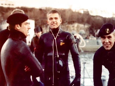 OMKOM: Gunnar Grønlund (midten) omkom i den tragiske ulykken ved Akkarvik i februar 1970. Foto: Privat