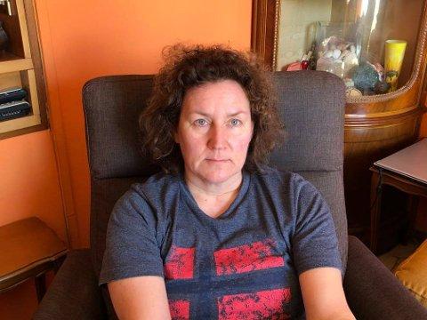 HOLDES HJEMME: Margrete Lorentsen  (48) har via Facebook sendt en stille bønn til Norge.