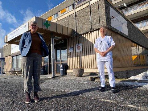 LANDET I TROMSØ: Kvinnen som tirsdag kveld ble innlagt på UNN i Harstad, landet i Tromsø fredag 20. mars.