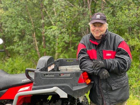 HELT: Helge Heggelund skulle bare redde sønnens firehjuling. Noen timer senere endte han opp med å redde noe mye viktigere.