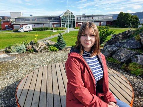 Hilde Marie Christoffersen (21) har akkurat begynt å studere i Tromsø. Hun har ikke funnet noe sted å bo ennå.