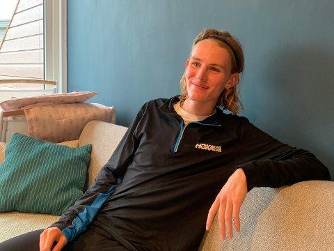 MÅ VENTE: Løperen Stian Dahl Sommerseth satte ny rekord i et ekstremløp i Tromsø, men får ikke utenlandsopphold på prestisjeskole i høst.