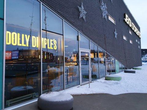 NYTT LOKALE: Her i de tidligere lokalene til Dolly Dimples vil Egon etablere restaurant på Jekta.