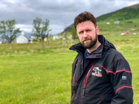 VIL UT: Leder for Troms bonde- og småbrukerlag Birger Bull, sier at laget ønsker å avslutte sin tilknytning til stiftelsen Holt 4H læringstun.