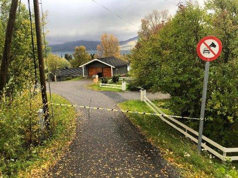 SPERRET AV: 34 personer er evakuert på Storsteinnes.