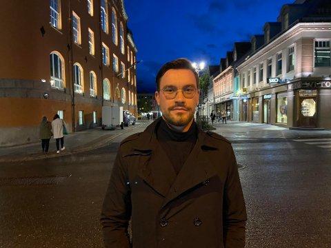 MOBILBRUK: Magnus Joki Arild deler tanker rundt mobilbruk og digitalisering.