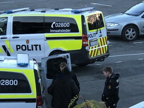 Politiet rykket ut med to biler