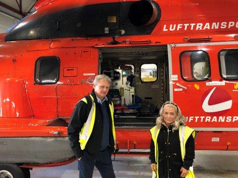 BEKYMRET: Sandra Borch og Ivar Prestbakmo er bekymret for beredskapen i Nord-Norge.