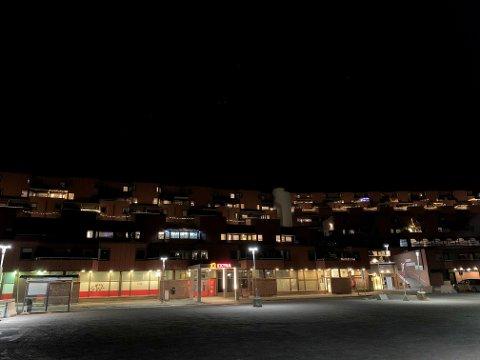 VÆPNET AKSJON: Det var i en av disse leilighetene på Utsikten at den væpnede aksjonen fant sted i september.